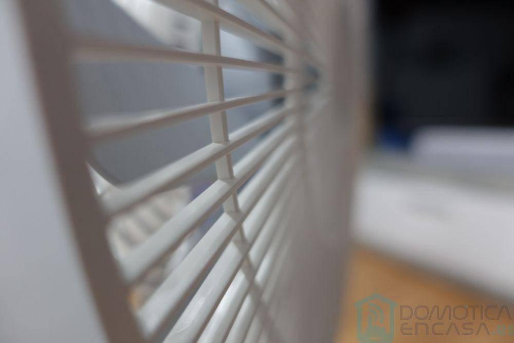 Rejilla del ventilador al detalla