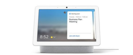 Zoom llegará a los Smart Displays de Google Assistant a finales de año