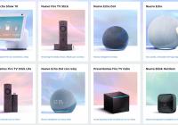 Nuevos dispositivos Amazon