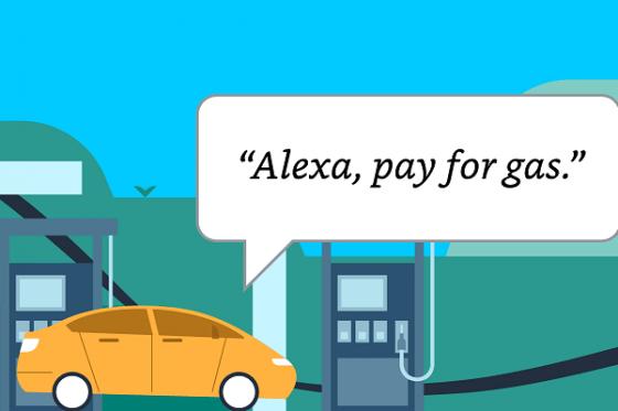 Alexa permite el pago en 11.500 gasolineras EXXON y Mobil en Estados Unidos