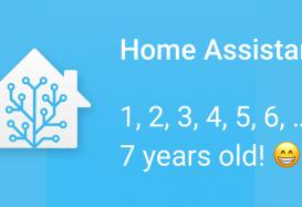 happy birthday home assistant