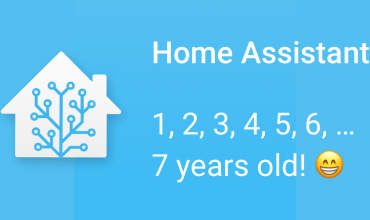 happy birthday home assistant