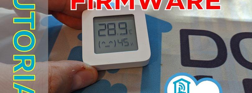 portada del tutorial para el cambio al custom firmware del termohigrómetro de Xiaomi LYWSD03MMC
