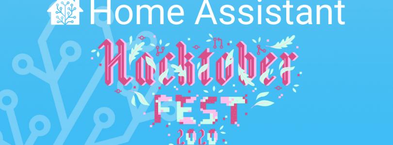 hacktober fest 2020 en Home Assistant
