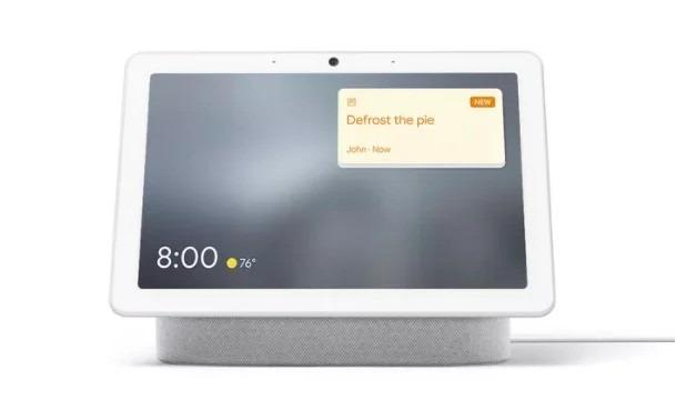 recordatorios en los smart display de google