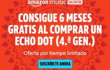 amazon music unlimited durante 6 meses gratis
