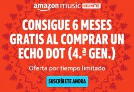 amazon music unlimited durante 6 meses gratis