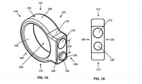 Google patenta un anillo inteligente con cámara