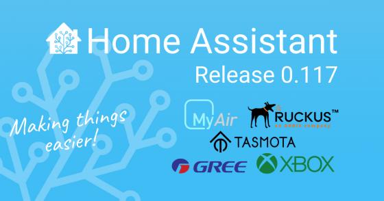 Home Assistant se actualiza a la versión 0.117