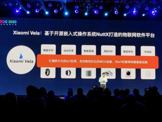 Xiaomi Vela, la nueva plataforma de Xiaomi para el IoT