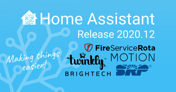 Home Assistant Blue, versión 2020.12, Blueprints y más cambios en el sistema de domótica