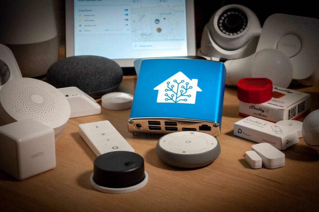 Home Assistant Blue