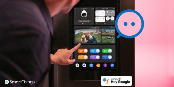 Los dispositivos Google Nest serán compatibles con Samsung SmartThings