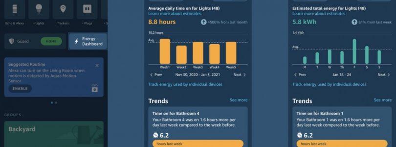 alexa energy dashboard