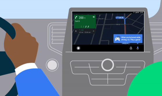 Android Auto añade juegos para amenizar la conducción