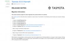 tasmota 9.3.0