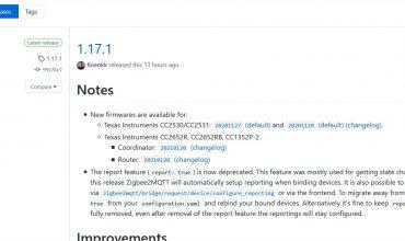 zigbee2mqtt 1.17.1