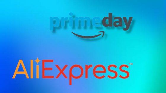 Prime Day de Amazon y promoción de Junio de Aliexpress 2021