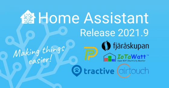 Home Assistant llega a la versión 2021.9