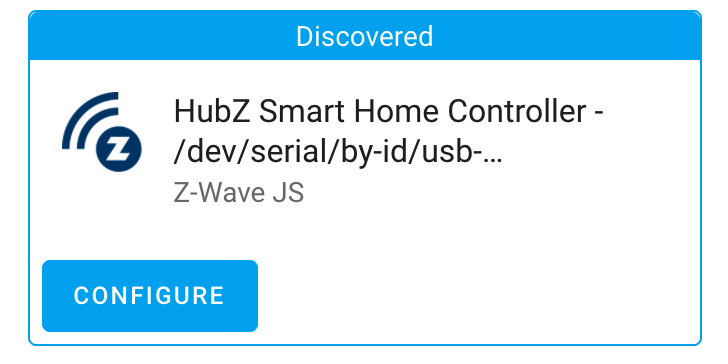 Home Assistant USB discovery