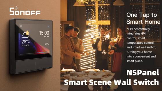 NSPanel, el proyecto Kickstarter de Sonoff con pantalla