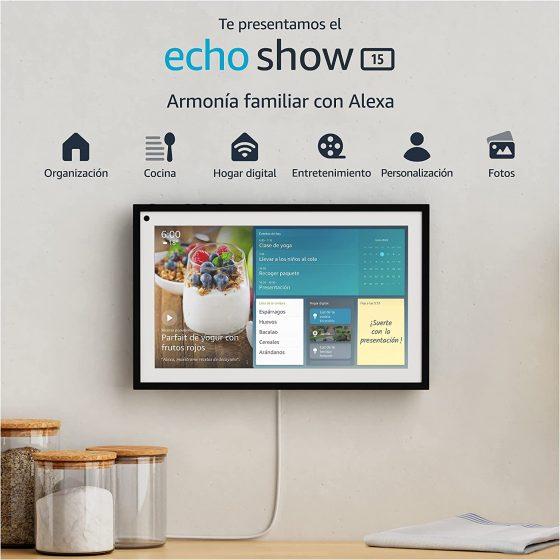 Amazon publica en la tienda el nuevo Echo Show 15