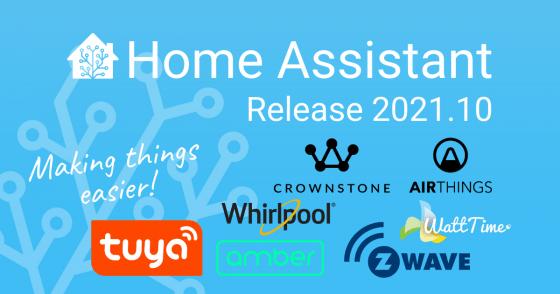 Home Assistant se actualiza a la versión 2021.10 con muchas cosas nuevas