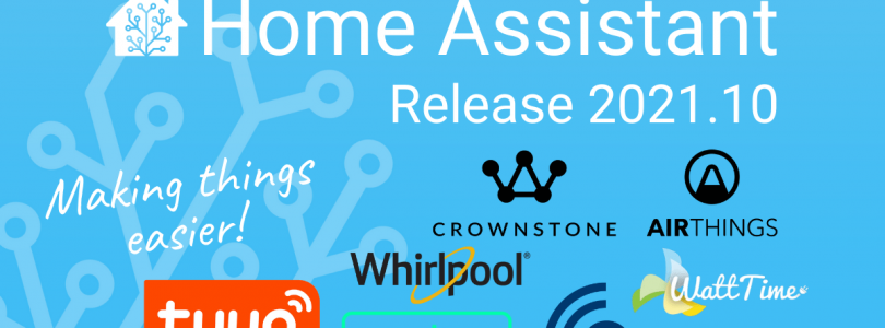 Home Assistant 2021.10