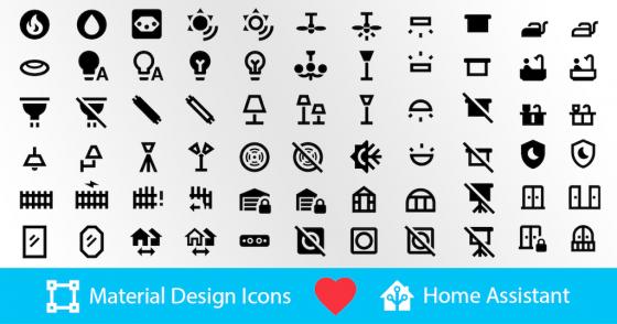 Nuevos iconos en Home Assistant 2021.10